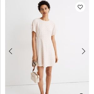 Madewell Tie Sleeve Flowy Dress